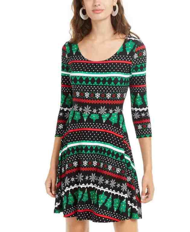 casual christmas female dress ideas