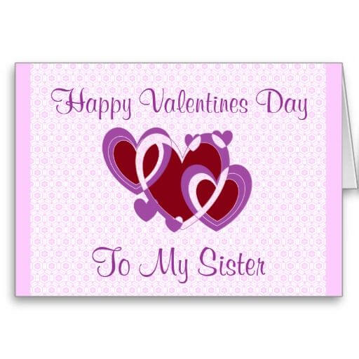 happy valentines day to sister image