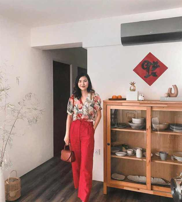 chinese new year high waist pant clothing fashion ideas women