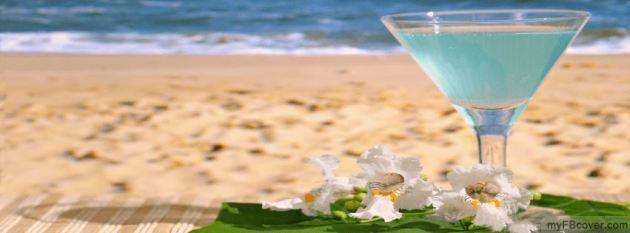 summer cocktail facebook cover photo for timeline