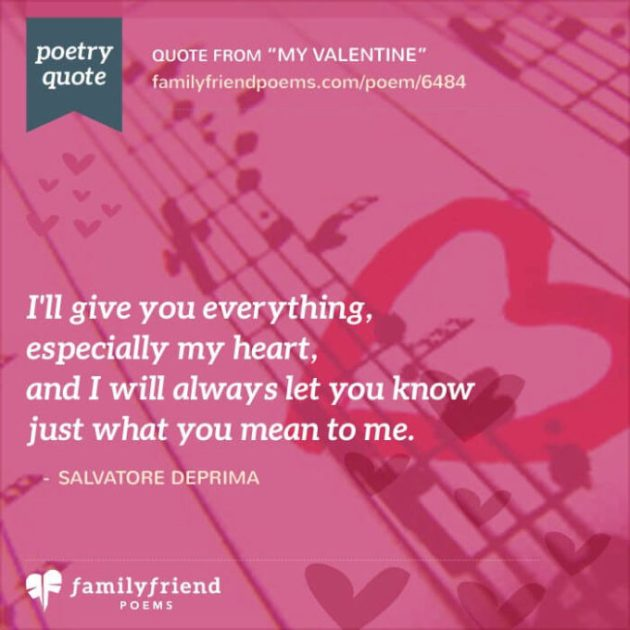 you are my everything quote valentines day image for wife