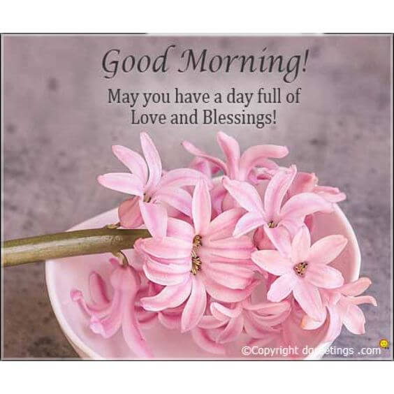 good morning blessings message image