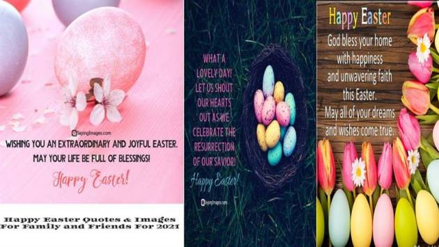 happy Easter quotes and images for 2021