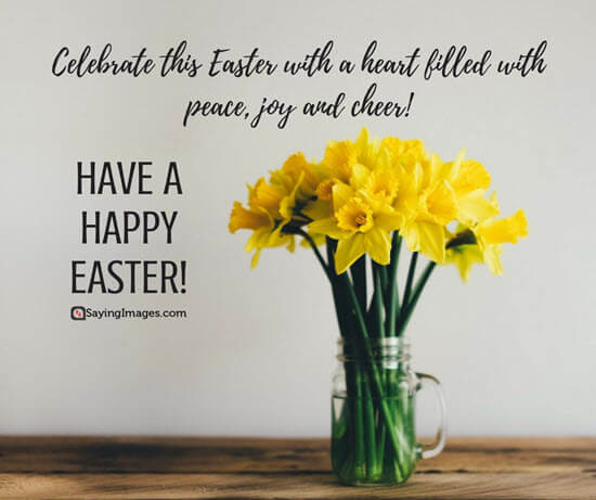 great happy Easter message image