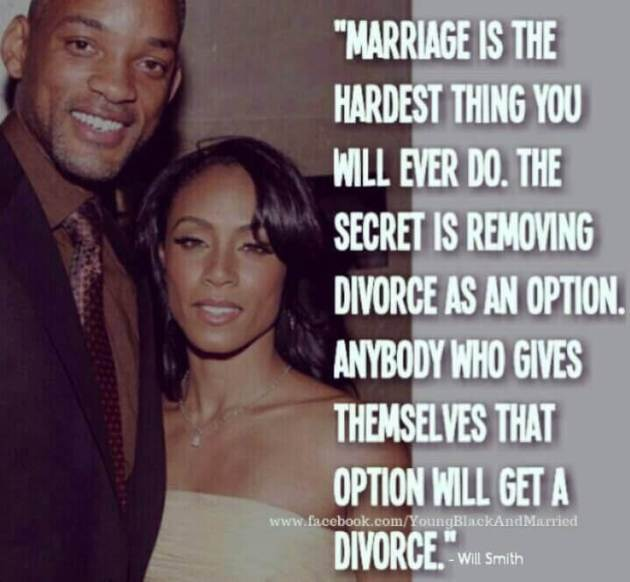 will smith married life quote