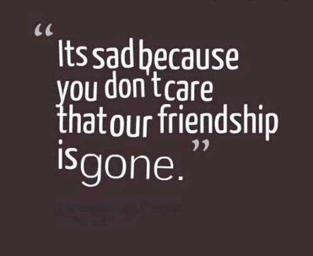 end of friendship quote