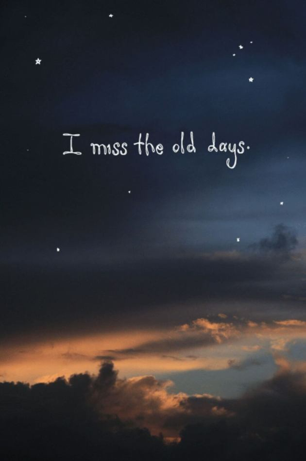 miss old days image