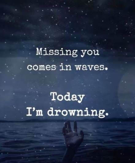 sad missing you quote