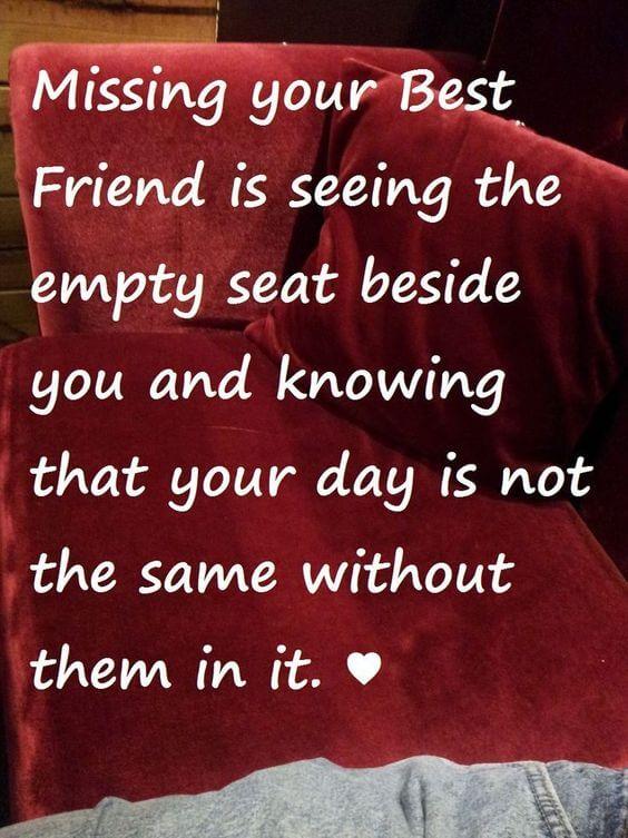 missing best friend quote