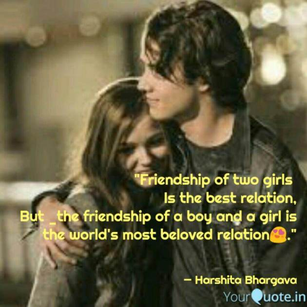 boy and girl relationship quote image