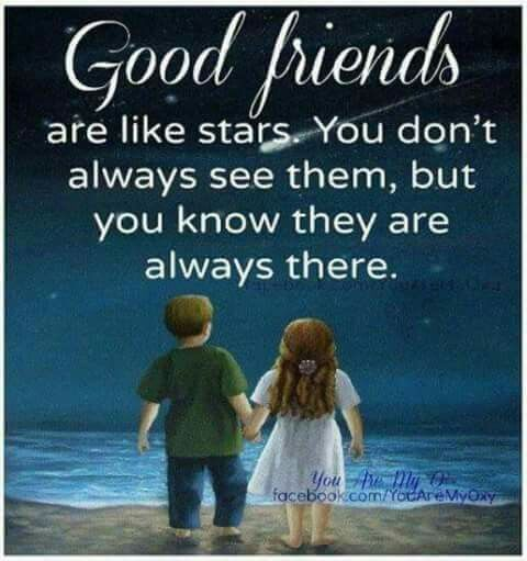 good friends quote image
