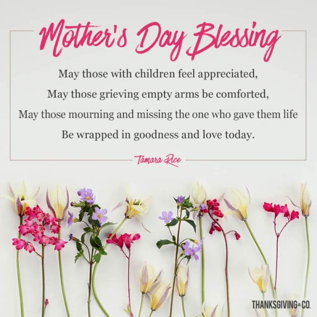 mothers day blessing quote for mother in heaven