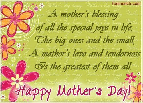 mothers blessing quote for happy mothers day