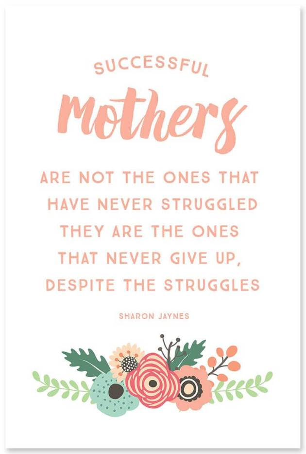 successful mothers quote image