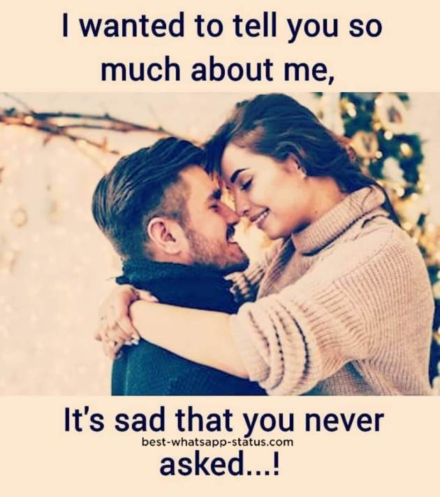 sad couple love quote with picture