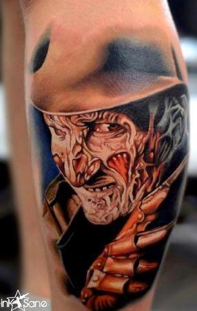 Freddy Krueger tattoo picture