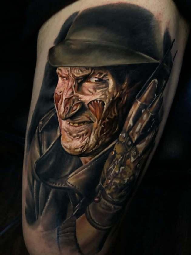 Freddy Krueger tattoo sketch