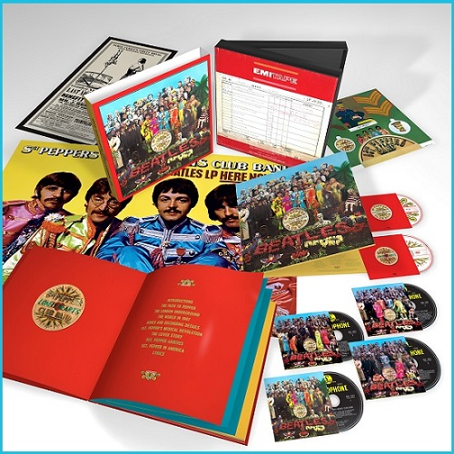 The Beatles -  Sgt. Pepper's Lonely Hearts Club Band (Deluxe)