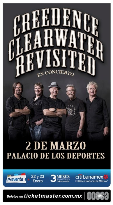 Creedence Clearwater Revisited 2018