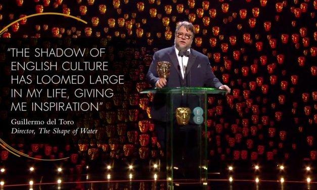 A Guillermo del Toro, el BAFTA como Mejor Director