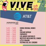 Vive Latino - AT&T - Horarios Sábado