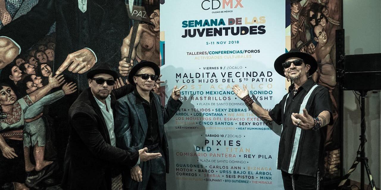 Pixies y Maldita Vecindad en el Zócalo