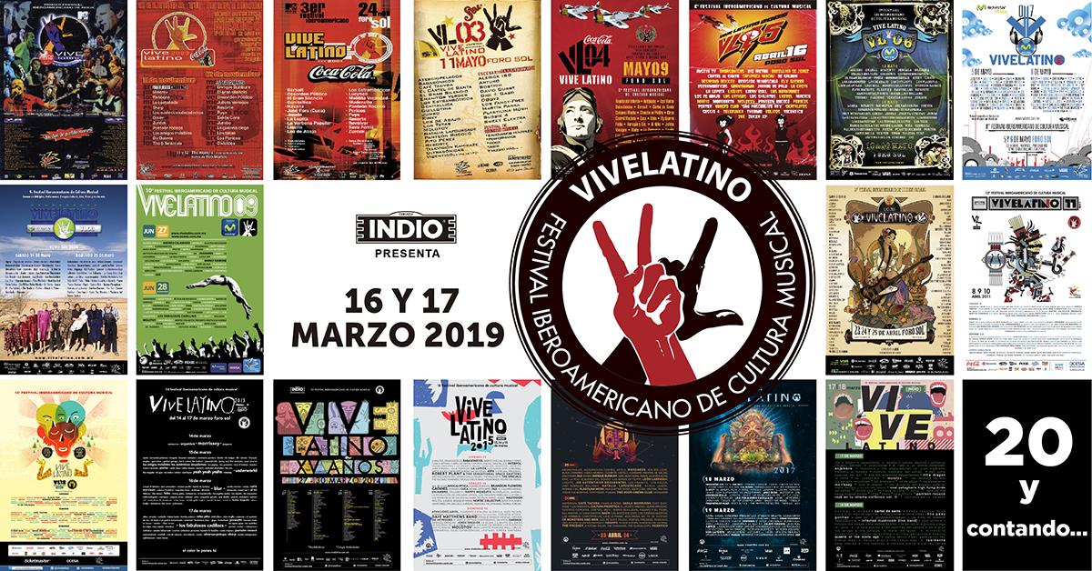 Anuncian fechas para el 'Vive Latino' 2019