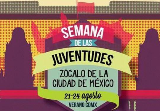 """Festejarán """"Semana de las Juventudes"""" con conciertos en el Zócalo"""