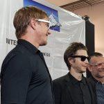 Interpol celebra estreno de 'A Fine Mess' en CDMX