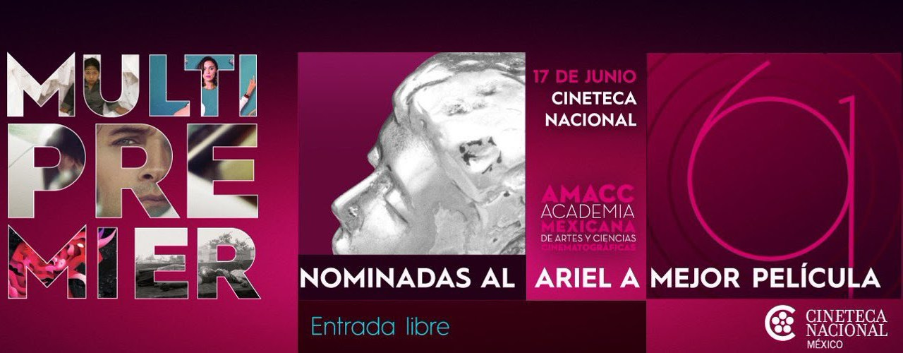 #RumboAlAriel | La Cineteca alista la Multipremier