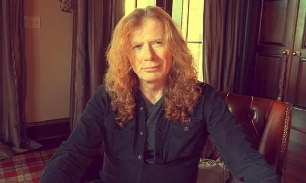 Dave Mustaine padece cáncer