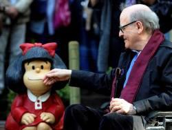 """Adiós a Quino, padre de """"Mafalda"""""""