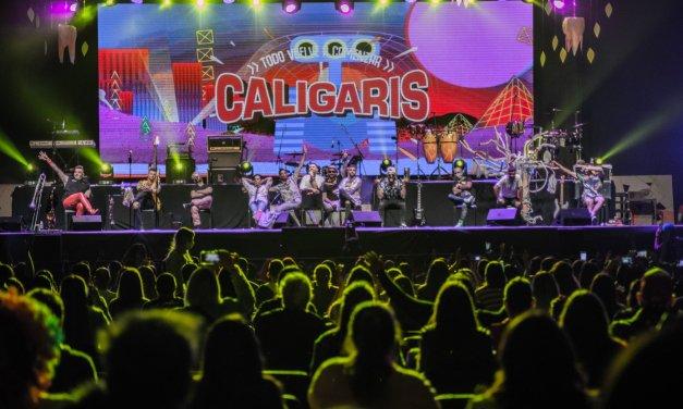 """""""Tu Alegría a flor de piel"""": Los Caligaris"""