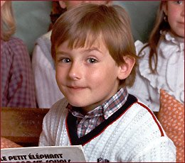 Miroslav Klose kindertijd foto een via Pinterest.com