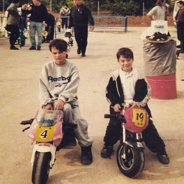 Dani Pedrosa childhood photo one at Pinterest.com