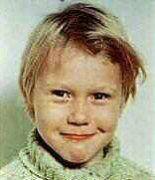 Mika Hakkinen, foto de infância um em pinterest.com
