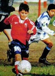 Sergio Agüero kindertijd foto een via http://footballplayerschildhoodpics.blogspot.in