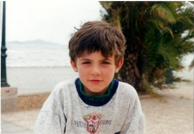 Juan Mata childhood photo one at footballplayerschildhoodpics.blogspot.in