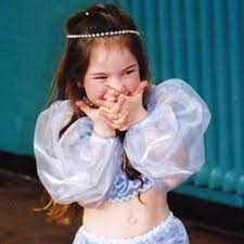 Lily James childhood photo one at thesun.co.uk