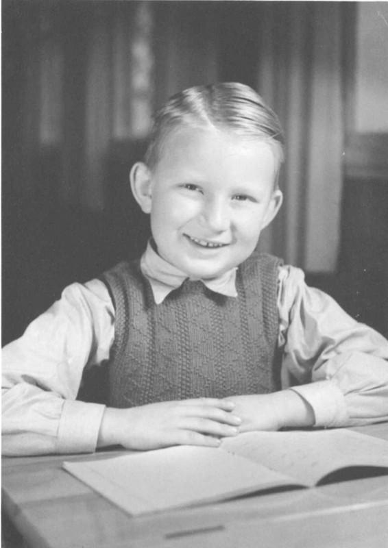 Lennart Johansson childhood photo one at bygdeband.se/