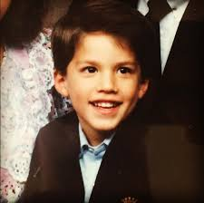 Michael Trevino childhood photo one at pinterest.com