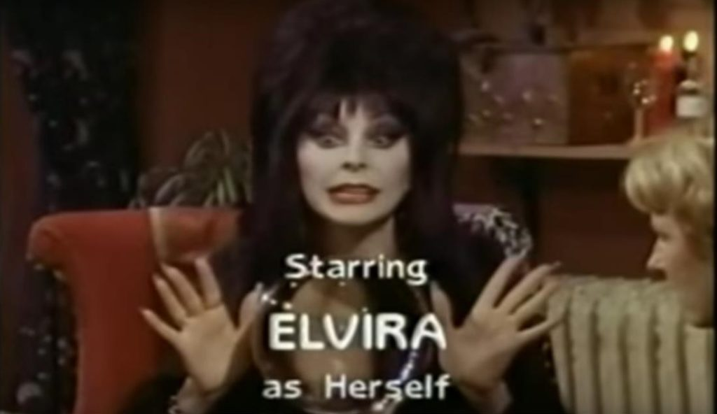 Elvira out Erster Film:  Survival