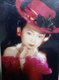 Xiao Wen Ju childhood photo one at fashionhouseglobal.com