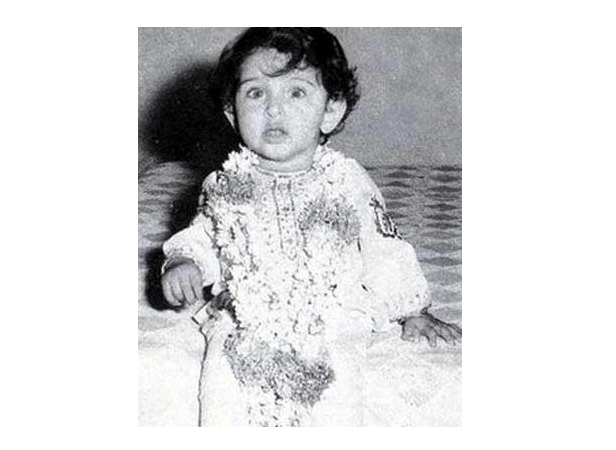 Hrithik Roshan childhood photo one at filmfare.com