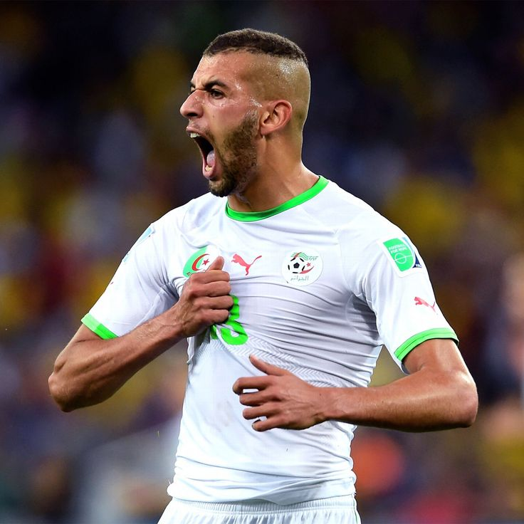 Islam Slimani younger photo one at pinterest.com