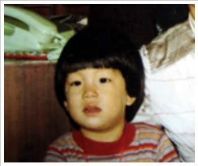 Gong Yoo childhood photo one at mykingsgongsong.tumblr.com