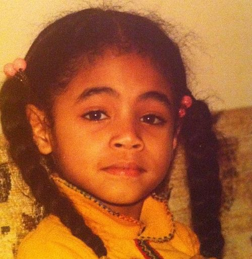 Jada Smith kindertijd foto een via pinterest.com