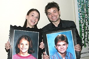 Hunter Foster childhood photo one at broadway.com