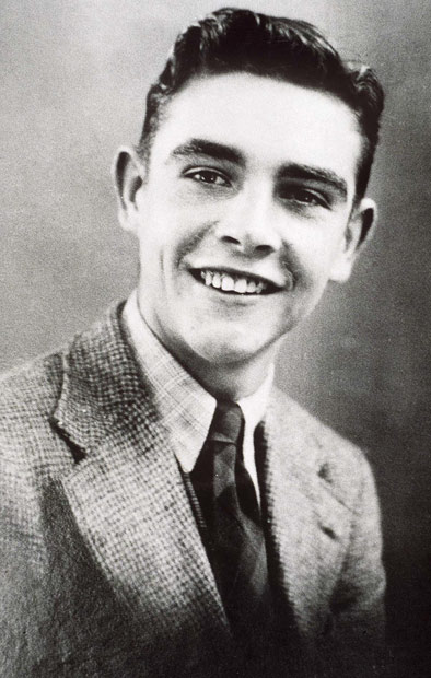 Sean Connery yearbook photo one at Pinterest.com at Pinterest.com
