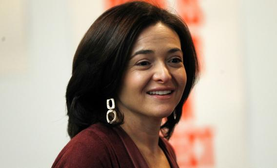 Sheryl Sandberg younger photo one at pinterest.com